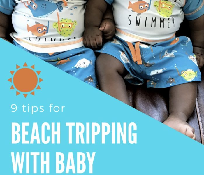9 Tips for Beach Tripping with Baby