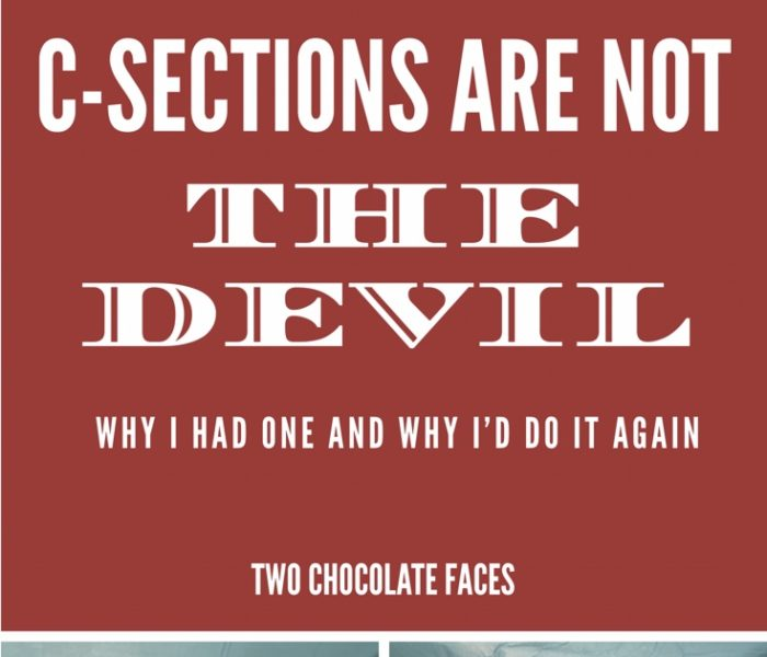 C-Sections Are Not The Devil